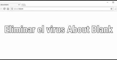 virus about blank